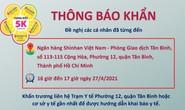 TP HCM thông báo khẩn: Tìm người từng đến Ngân hàng Shinhan - Tân Bình