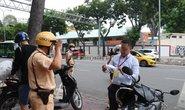 CSGT TP HCM sẽ xử phạt người đi đường không mang khẩu trang