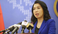 Việt Nam nói về thông tin Trung Quốc lắp đặt xong giàn khoan lớn nhất thế giới