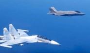 Máy bay chiến đấu Su-30SM của Nga và F-35A của NATO ghìm nhau trên biển Baltic