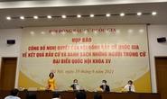 Danh sách 24 người trúng cử đại biểu Quốc hội khoá XV ở TP HCM