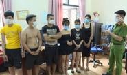 Hơn 40 thanh niên nam, nữ bay lắc ở nhiều phòng VIP quán karaoke