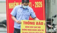 CLIP: Bệnh viện Đức Giang ngừng nhận bệnh nhân sau ca dương tính SARS-CoV-2 mới