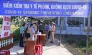 Quảng Nam tái lập chốt kiểm soát, cách ly người về từ Đà Nẵng
