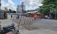 Cách ly y tế tầng 1 Block A3 chung cư Ehome3, phường An Lạc, quận Bình Tân, TP HCM