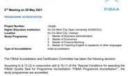 Trường ĐH Mở TP HCM có 4 chương trình đào tạo bậc thạc sĩ đạt chuẩn FIBAA