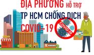 [infographic] Các địa phương hỗ trợ TP HCM chống dịch Covid-19