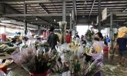 Chợ hoa Đầm Sen mong được sớm mở cửa trở lại