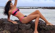 Cận cảnh nữ người mẫu gây sốc với chiều cao hơn 2m