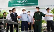Thaco tài trợ 126 xe chuyên dụng để vận chuyển vắc-xin Covid-19 và tiêm chủng lưu động