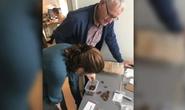 Dò kim loại, đào được kho báu thủy thần 2.000 tuổi