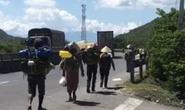 Không có tiền, 47 người Hrê được Khánh Hòa hỗ trợ đưa về quê Quảng Ngãi