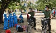 Quảng Ngãi: Xúc động hình ảnh các bé thả tim cùng chiến sĩ công an trước khi đi cách ly