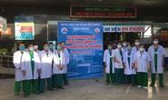 Đoàn y - bác sỹ Bình Thuận vào hỗ trợ TP HCM dập dịch Covid-19