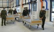 Phía trong bệnh viện dã chiến 1.500 giường tại Bình Dương