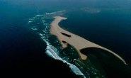 Hút cát ở đảo khủng long đắp bờ biển Cửa Đại