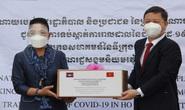 Campuchia tặng 100 máy tạo oxy và nhiều phần quà cho TP HCM
