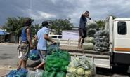 Vũng Tàu: 18 tấn rau củ hỗ trợ người dân một phường có nhiều ca Covid-19