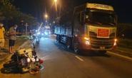 Tài xế xe tải né trạm thu phí, tông một CSGT bị thương