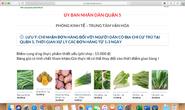 Quận 5 mở website bán thực phẩm giá vốn, đơn hàng gửi về tới tấp