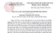 Chủ tịch TP Nha Trang gửi thư xin lỗi anh công nhân trong vụ bánh mì không phải lương thực thiết yếu