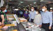 Thứ trưởng Đỗ Thắng Hải kiểm tra thực tế một số chợ tại TP HCM