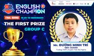 Nam sinh TPHCM giành ngôi quán quân English Champion 2021