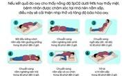 Cách nằm và tập thở cứu nhiều F0