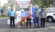 Thực phẩm miễn phí cùng cả nước chống dịch đến với người dân quận 5 và huyện Củ Chi