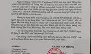 Điều chỉnh văn bản người dân đi - đến Đắk Nông phải có xét nghiệm âm tính Covid-19