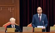 Chủ tịch nước Nguyễn Xuân Phúc điều hành phiên khai mạc Hội nghị Trung ương 3