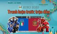 Talkshow Euro 2020 - Tranh luận trước trận đấu: Sôi nổi quanh trận Ý - Tây Ban Nha