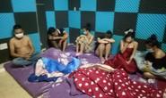 35 nam nữ tụ tập trong nhà nghỉ, bất chấp giãn cách theo Chỉ thị 16