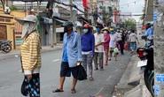 Đặc tả quán cơm Xã Hội Nụ Cười 1 trên đường Trần Hưng Đạo, quận 5 ngày đầu giãn cách
