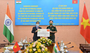Ấn Độ trao 1 triệu USD viện trợ cho Bộ Quốc phòng