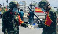 TP HCM: Bộ đội tỏa về các chốt kiểm soát, cùng công an đến từng khu vực hỗ trợ người dân