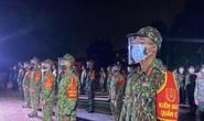 TP Thủ Đức: Lễ xuất quân dưới mưa của 932 chiến sĩ tham gia phòng chống Covid-19