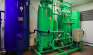 Thử nghiệm hệ thống cung cấp oxy cho trạm hồi sức cấp cứu dã chiến  ở Đồng Nai và Bình Dương