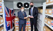 Việt Nam nhận 415.000 liều vắc-xin Covid-19 AstraZeneca do Chính phủ Anh tặng