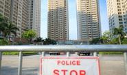 CLIP: Tạm phong toả một chung cư có liên quan đến 3 ca nghi mắc Covid-19