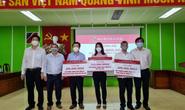 Chi nhánh Agribank ở Cần Thơ, Sóc Trăng tiếp tục ủng hộ quỹ phòng, chống dịch Covid-19.