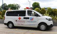 Agribank chi nhánh Bình Thạnh tài trợ xe cứu thương cho Bệnh viện TP Thủ Đức