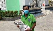 Tặng Báo Người Lao Động đến bệnh viện điều trị Covid-19, khu cách ly