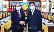 Việt - Lào ký kết và trao 14 văn kiện hợp tác