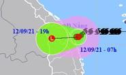 Bão số 5 suy yếu thành áp thấp nhiệt đới đổ bộ vào Đà Nẵng-Bình Định