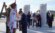 Chủ tịch nước đặt vòng hoa tại Tượng đài Chủ tịch Hồ Chí Minh và Anh hùng dân tộc José Marti
