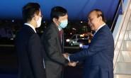 Chủ tịch nước Nguyễn Xuân Phúc đến sân bay quốc tế John F. Kennedy