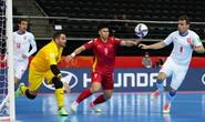 Việt Nam kết thúc FIFA Futsal World Cup 2021 ở vòng 1/8