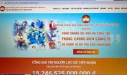 Ra mắt trang tin điện tử phòng, chống dịch Covid-19