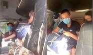6 người trốn trong cabin xe đầu kéo để qua chốt rời vùng có dịch Covid-19